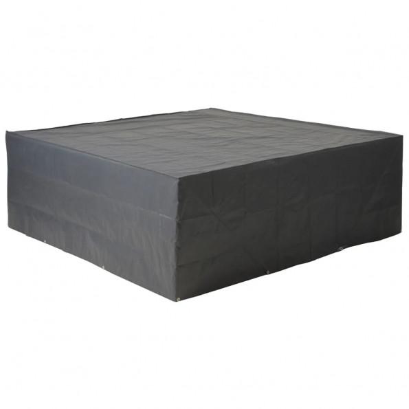 Nature havemøbelovertræk til lavbord og stole 325x205x70 cm