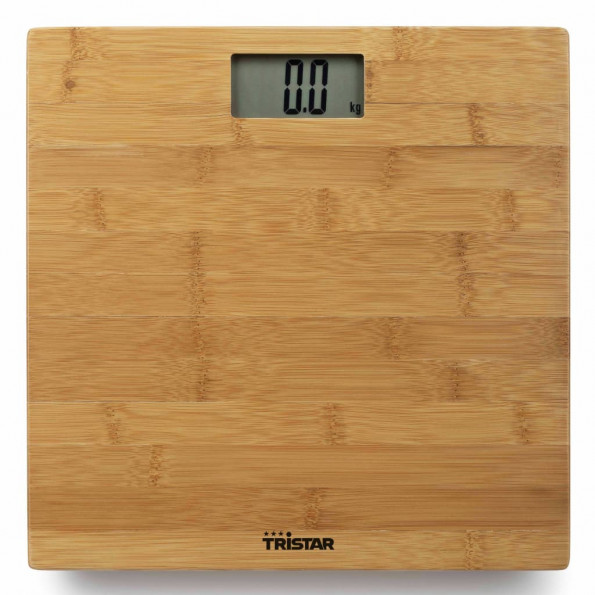 Tristar badevægt 180 kg bambus