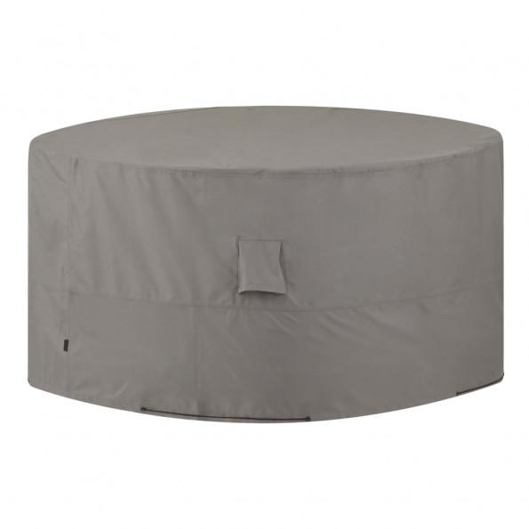 Madison udendørs møbelovertræk rund 320 cm grå