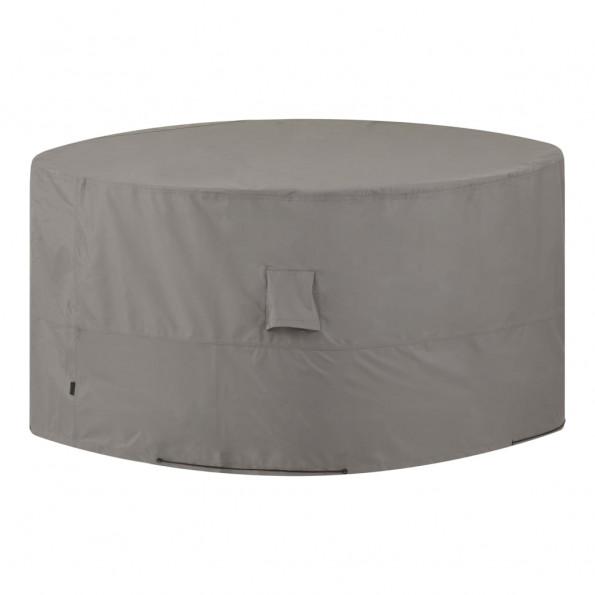Madison udendørs møbelovertræk rund 200 cm grå