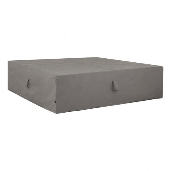Madison udendørs loungesætovertræk 400 x 300 x 70 cm grå