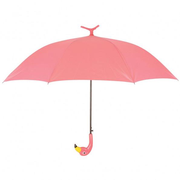 Esschert Design paraply Flamingo 98 cm lyserød TP194