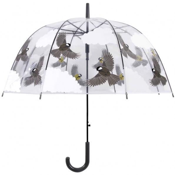 Esschert Design paraply 81 cm 2 sider fugle TP274