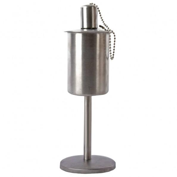 Esschert Design stående olielampe rustfrit stål