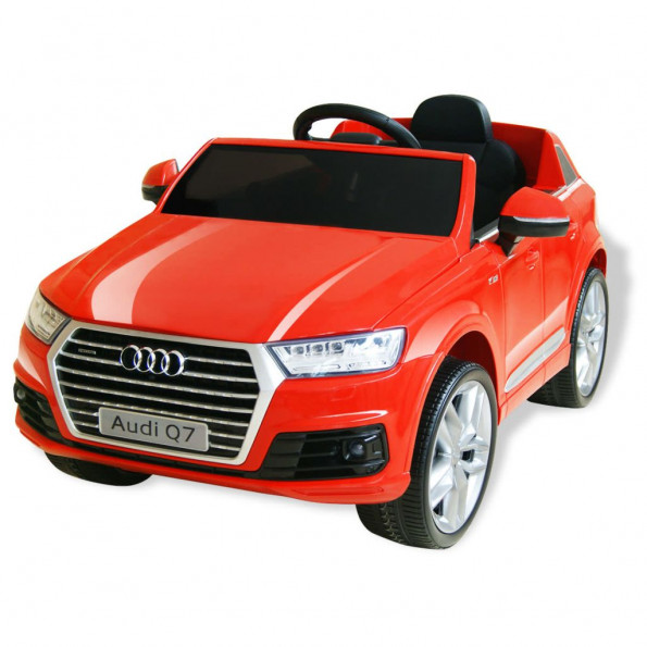 Elektrisk kørbar bil Audi Q7 rød 6 V