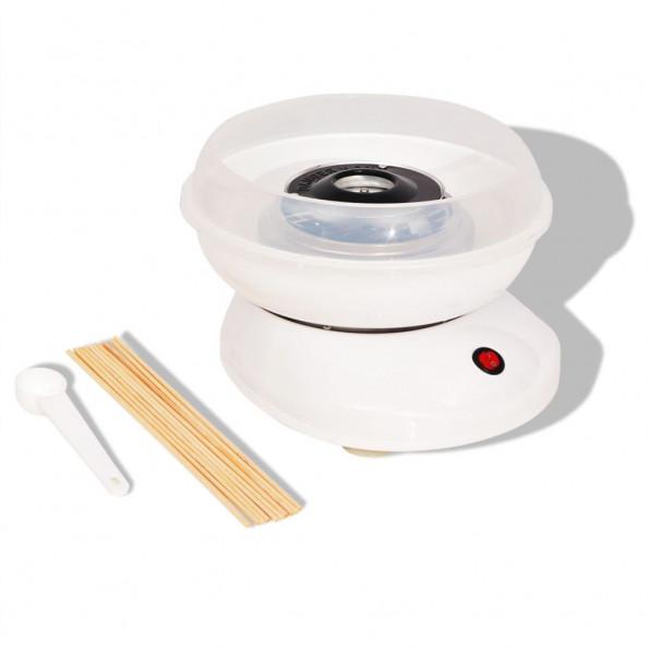 Candyfloss-maskine 480 W hvid