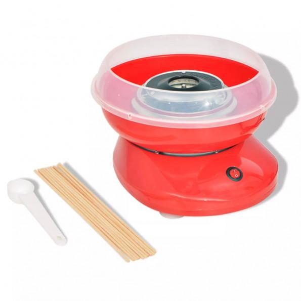 Candyfloss-maskine 480 W rød