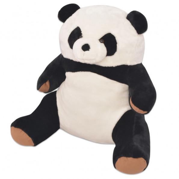 Blød panda-tøjdyr i plys XXL 80 cm