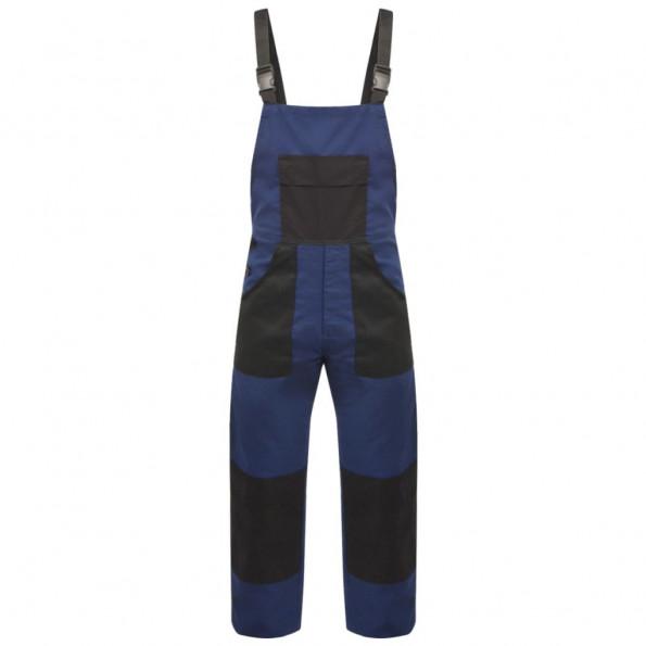 Bib overalls til mænd str. L blå