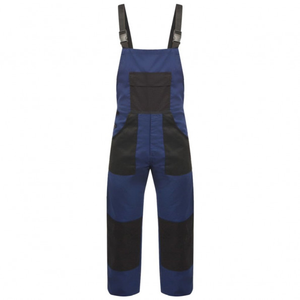 Bib overalls til mænd str. XXL blå
