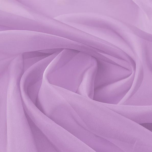 Voile-stof 1,45x20 m lilla