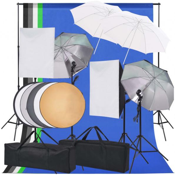 Belysningsudstyr til fotostudie