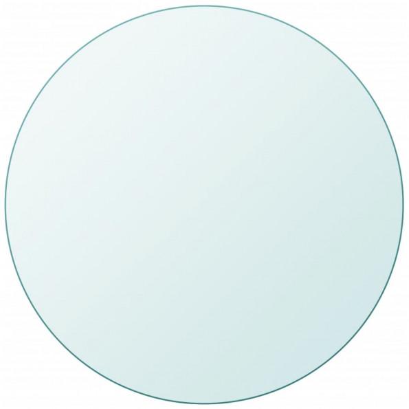 Bordplade hærdet glas rund 400 mm