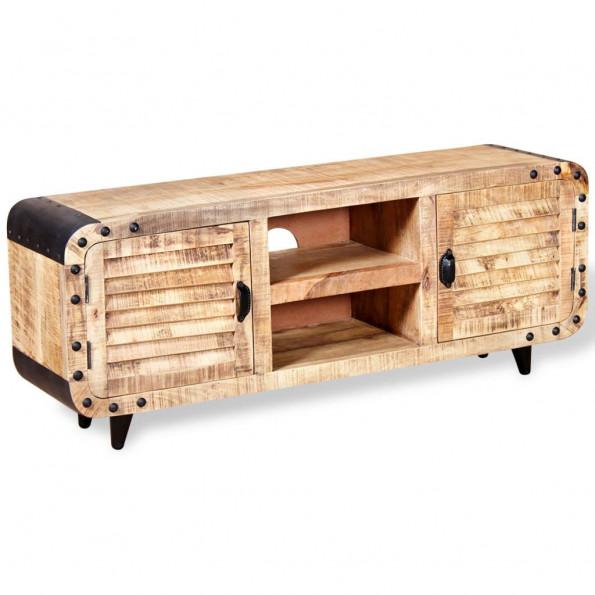 Tv-bord ru mangotræ 120 x 30 x 50 cm