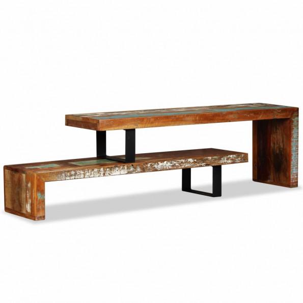 TV-bord massivt genanvendt træ
