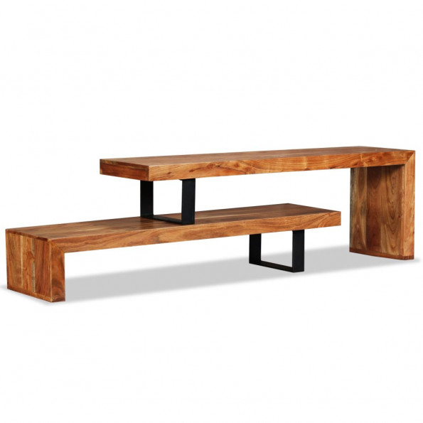 TV-bord i massivt akacietræ