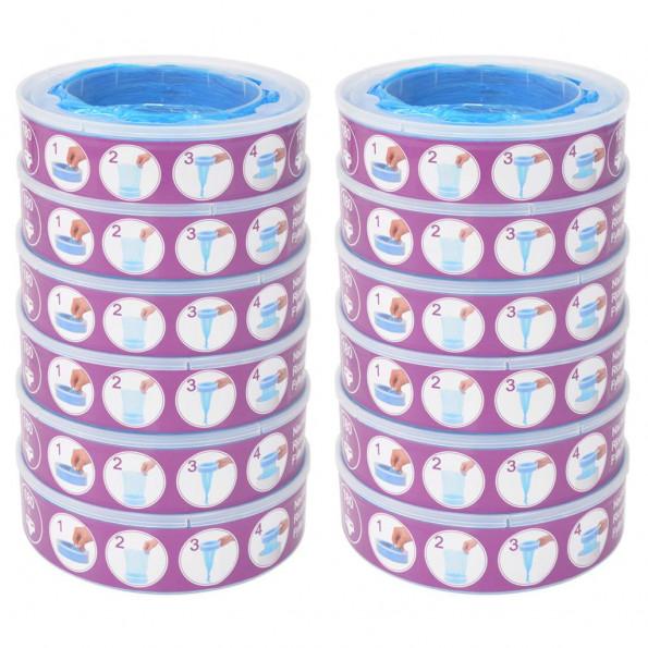 Blespand-refill til Angelcare Diaper Genie 12 stk.