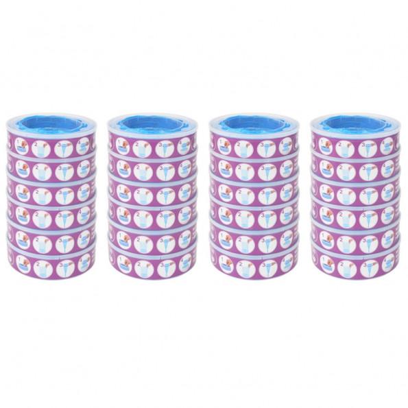 Blespand-refill til Angelcare Diaper Genie 24 stk.