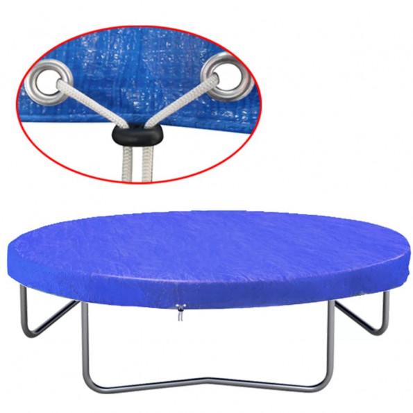 Trampolindække PE 360-367 cm 90 g/m²