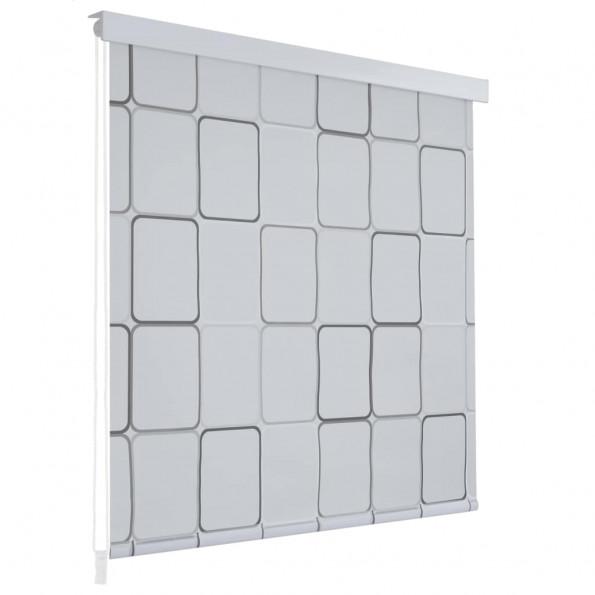 Rullegardin til brusekabine 160 x 240 cm firkant