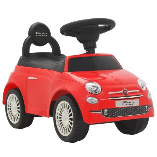 Legetøjsbil Fiat 500 rød