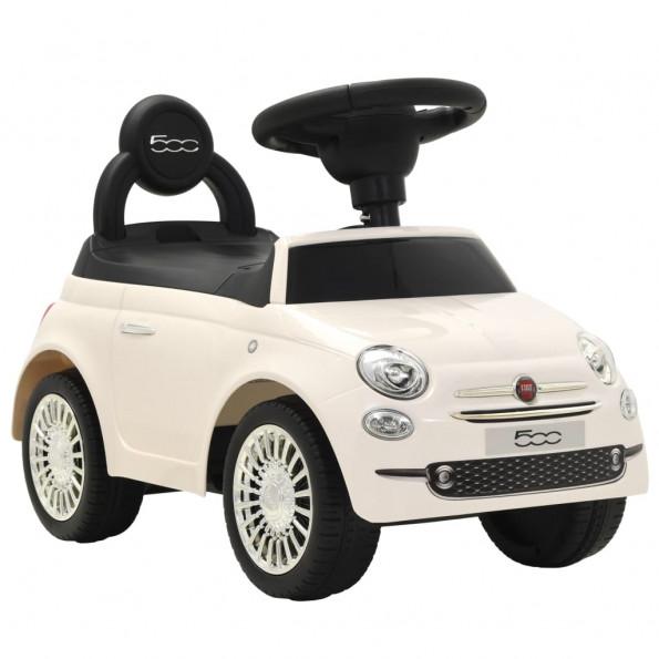 Legetøjsbil Fiat 500 hvid