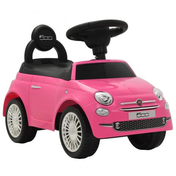 Legetøjsbil Fiat 500 lyserød