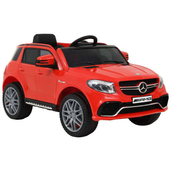 Børnebil i plastik Mercedes Benz GLE63S rød