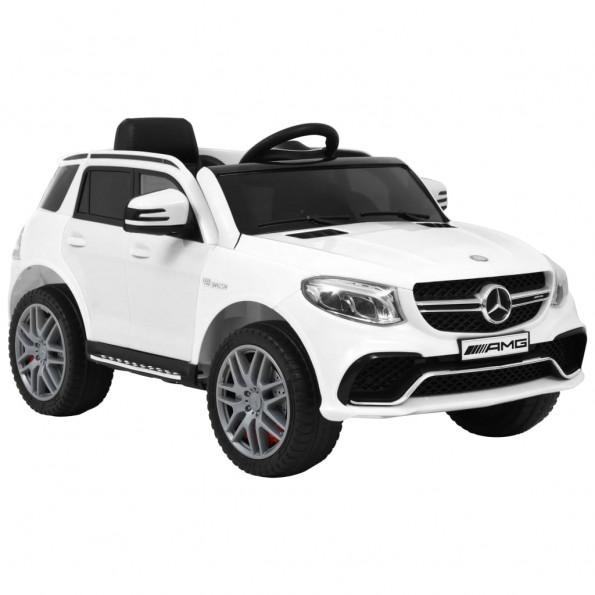 Børnebil i plastik Mercedes Benz GLE63S hvid