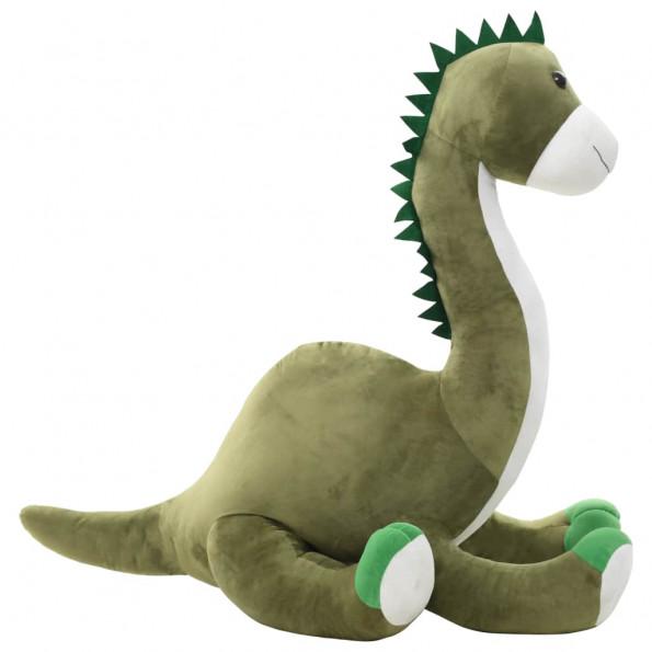 Dinosaur brontosaurus tøjdyr plys grøn