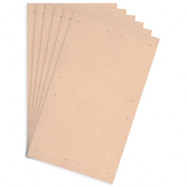 Plakatplader 10 stk. DIN A1-størrelse HDF 860 x 620 x 3 mm