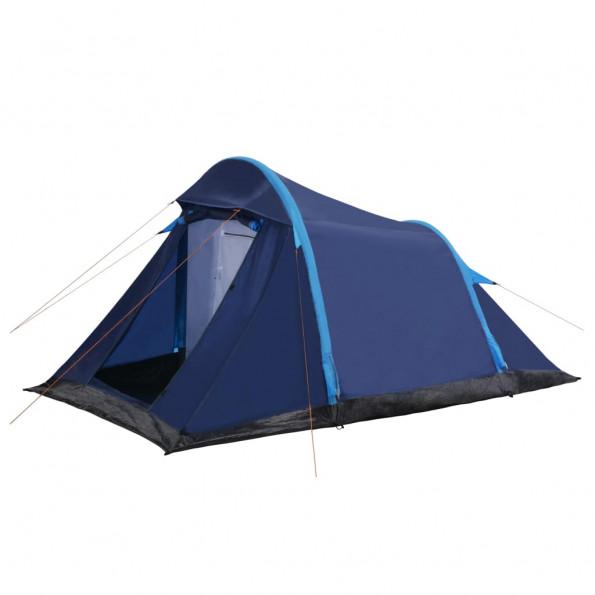 Campingtelt med oppustelige bjælker 320 x 170 x 150/110 cm blå
