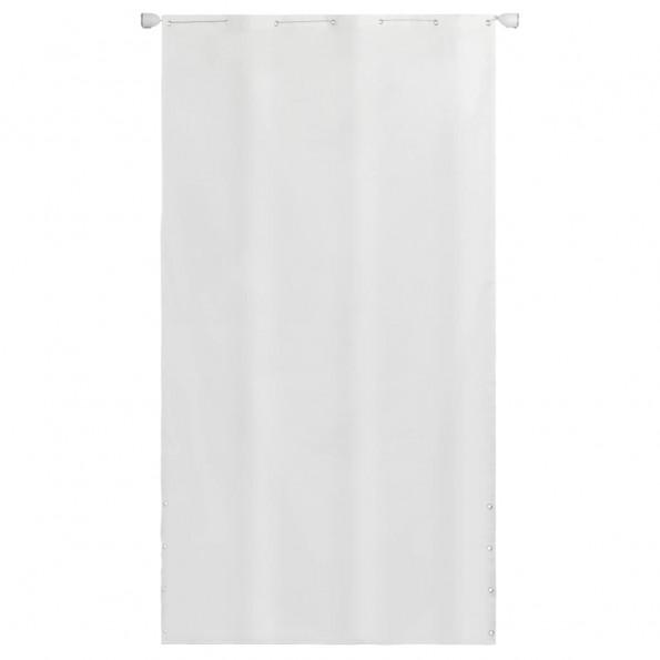 Altanafskærmning oxfordstof 140 x 240 cm hvid