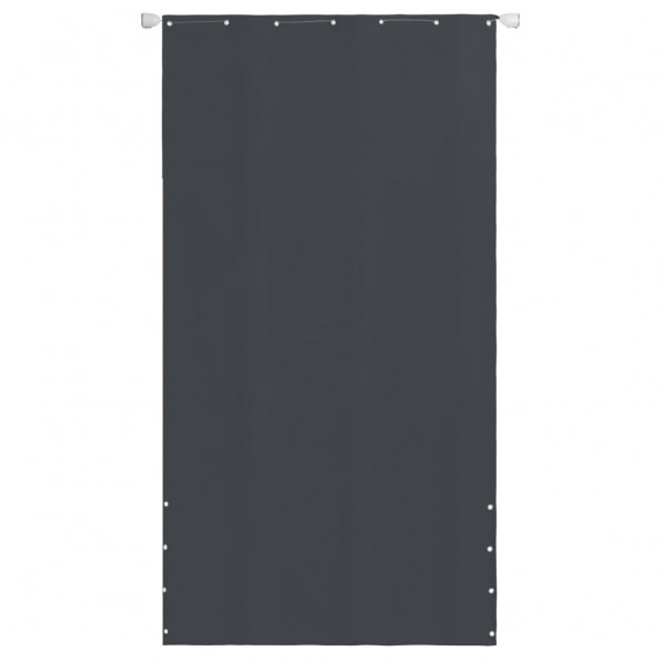 Altanafskærmning oxfordstof 140 x 240 cm grå