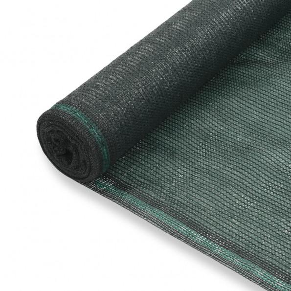 Tennisskærm HDPE 1,4 x 25 m grøn