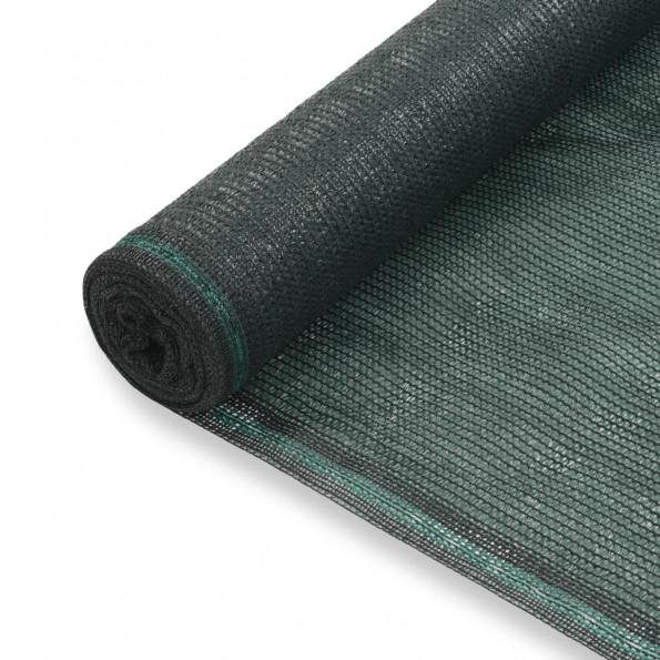 Tennisskærm HDPE 1,4 x 100 m grøn