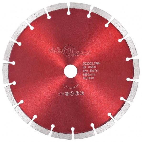 Skæreskive til diamantskærer 230 mm stål