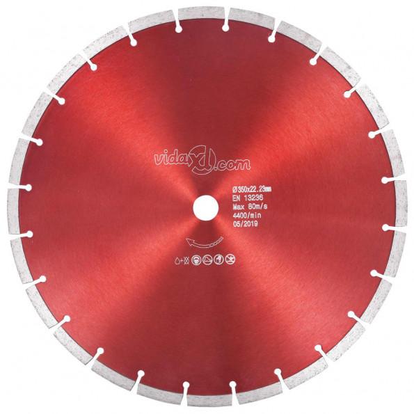 Skæreskive til diamantskærer 350 mm stål