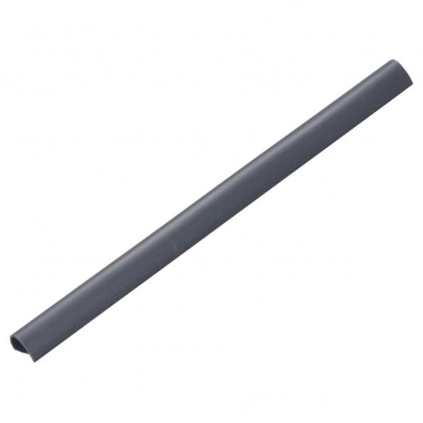 100 stk. klips til hegnafskærmning PVC antracitgrå