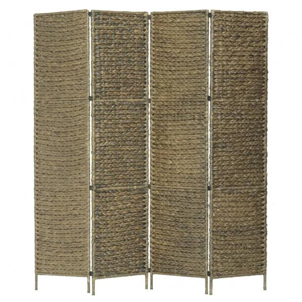 4-panelers rumdeler 154 x 160 cm vandhyacint brun
