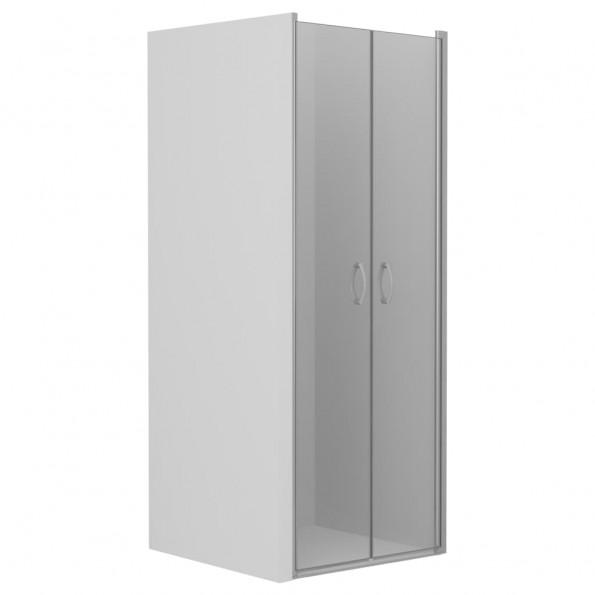 Brusedøre klar ESG 80 x 185 cm