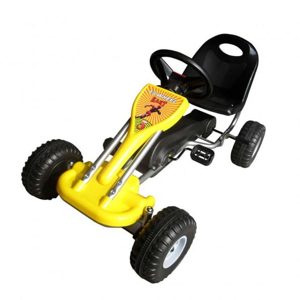 Pedal-gokart gul