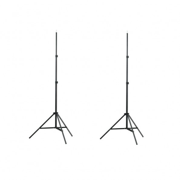 Lampestativer 2 stk. 78-210 cm