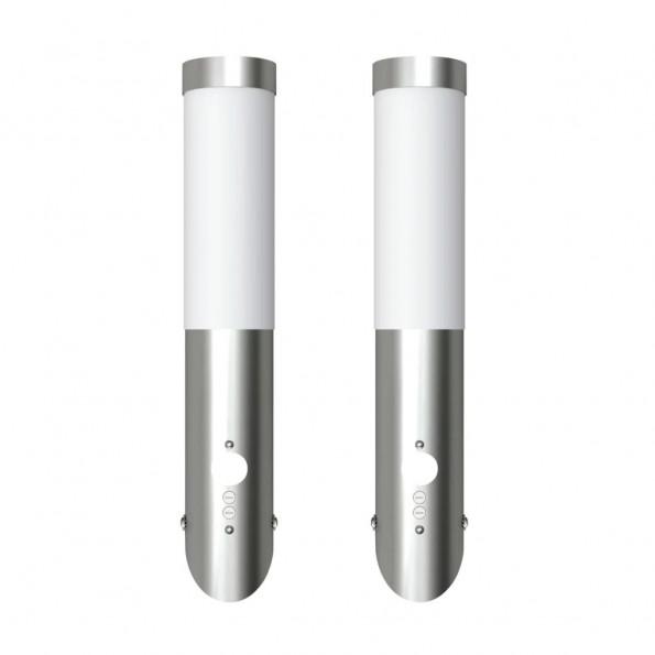 Enego Udendørs væglampe med bevægelsesføler 2-pack