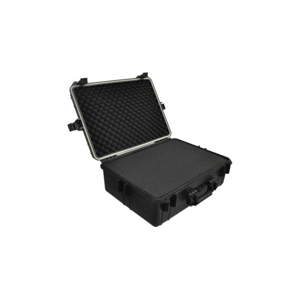 Hard-case transporttaske med skum 35 L sort