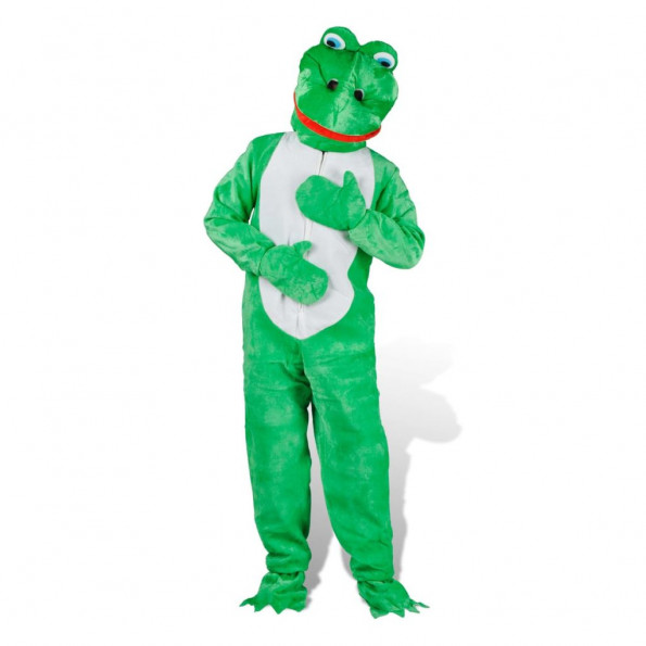 Frog Utkledning Kostume ML Unisex