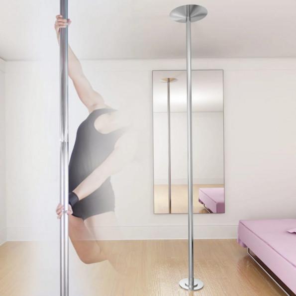 Højdejusterbar polestang til poledance