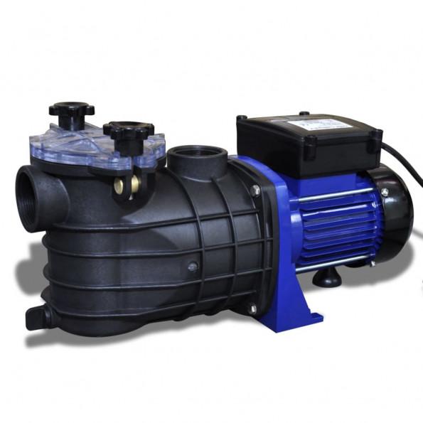 Poolpumpe elektrisk 500 W blå