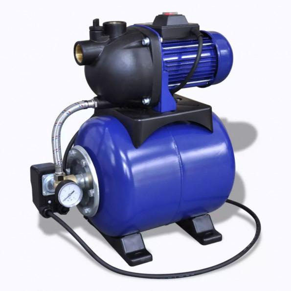 Elektrisk havepumpe 1200 W blå