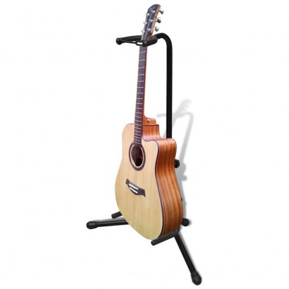 Guitarstativ justérbart sammenfoldeligt
